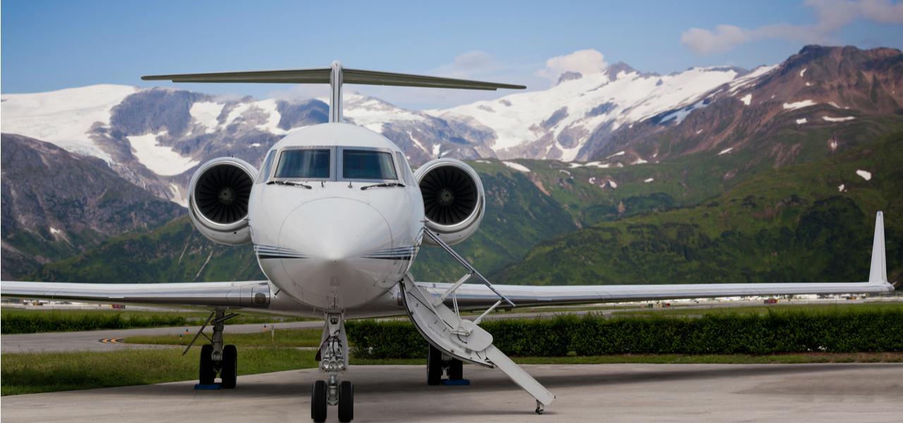 частный самолет клиника Доктор Кредо